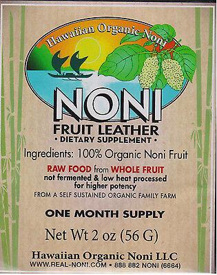 Noni Fruit Leather 2 oz - Hawaiian Organic Noni