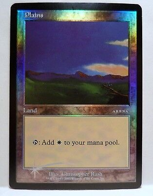 MTG ARENA ICE AGE FOIL PLAINS PROMOS CARD NEVER BEEN PLAYED FREE SHIP for sale  Shipping to Canada