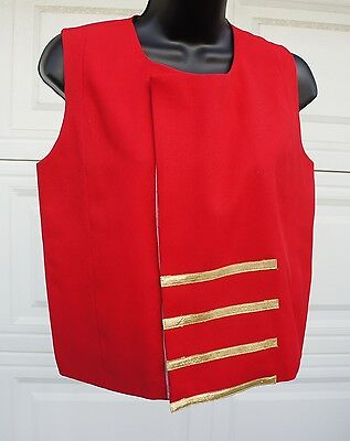 James Brown Costume shirt TV Prop Marching band military Circus Majorette XS