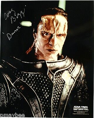"Casey Biggs as Dumar 8""X10"" Autographed Photo STAR TREK Deep Space Nine"