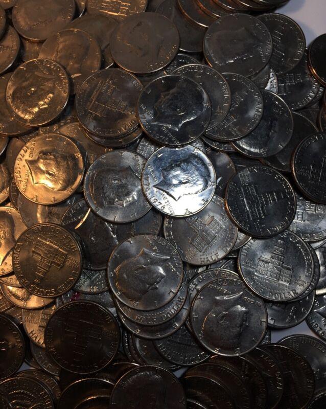 💥(1) 1776-1976 P / D OR S AU/BU BICENTENNIAL KENNEDY HALF DOLLAR COIN-#G3