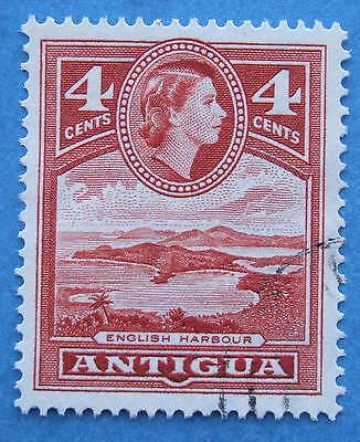 ANTIGUA 1953 DEFINITIVE SG124a 4c  VERY FINE USED