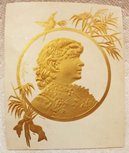 Victorian Advertising Card Central City Soap Company Jackson, Michigan 1883