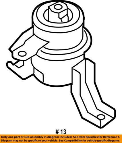 Ford Oem Engine Motor Mount Torque Strut 6l8z6068aa