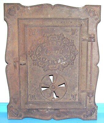 2 Original Pine Barren wood stove door handles OEM New Old Stock
