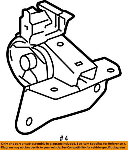 Scion Toyota Oem 05 10 Tc Engine Motor Mount Torque Strut 1230628091