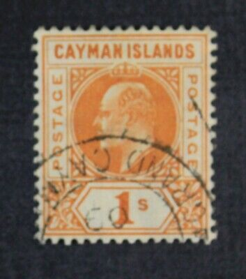 CKStamps: Cayman Island Stamps Collection Scott#12 Used