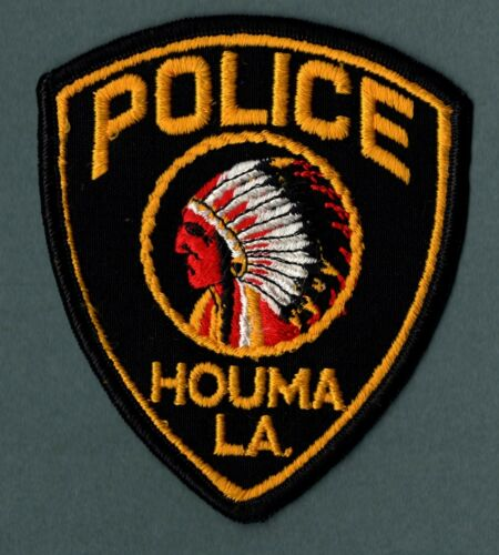Houma Louisiana Police Patch
