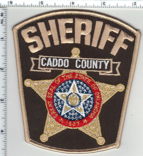 Caddo County Sheriff (Oklahoma) Shoulder Patch from the 1980
