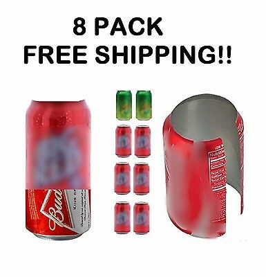 8 HIDE A BEER CAN COVERS SODA SLEEVES TAILGATE COVER  DISGUISE CAMO WRAP (Beer Covers)