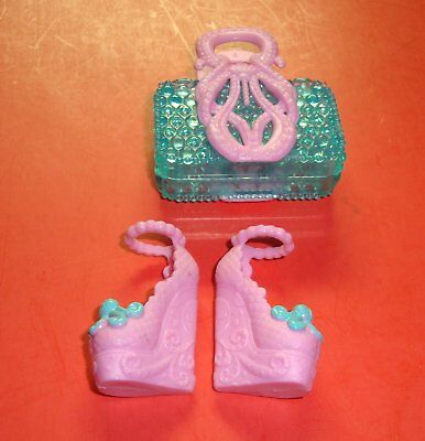 Lagoona Blue Monster High Scaris 2 Pack Purse and - Lagoona Blue Shoes
