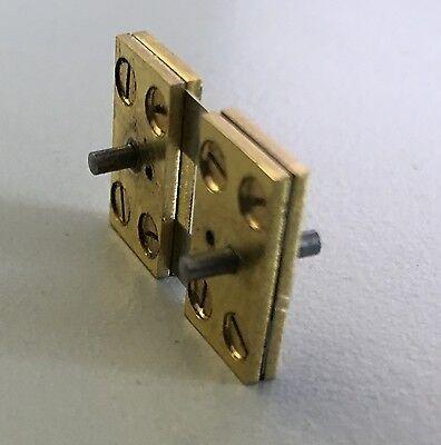 Pendelfeder für Sekundenpräzisionsuhr TN | 13,5 Stärke 0,10 | Bahn-Ausführung
