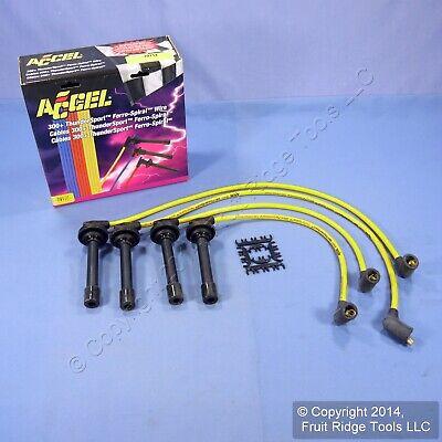 ACCEL 7911Y 300+ Yellow Thundersport Ferro-Spiral 8MM Spark Plug Wire -
