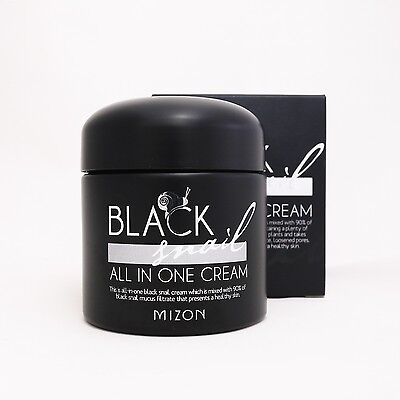 MIZON Black Snail All In One Cream 75ml Whitening Anti_wrinkle Moisturize