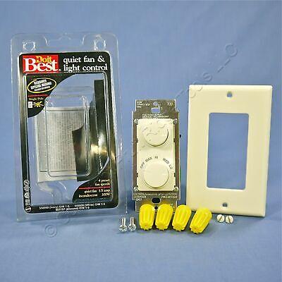 Do It Best Almond Ceiling Fan Speed Control Dimmer Switch 300W 1.5A