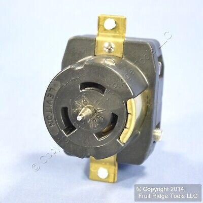 Leviton California Locking Receptacle Twist Lock Cs Outlet 50a 125v Bulk Cs63-70