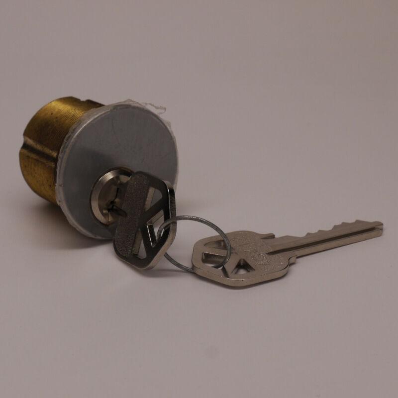 Brass lock cylinder, mortise-mount locks, standard cam.