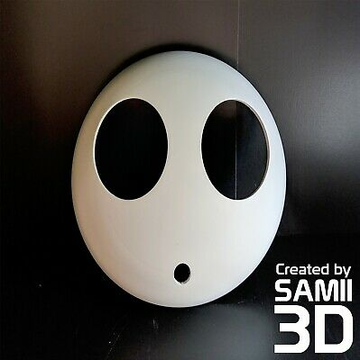 Shy Guy mask 3D printed cosplay video games costume bad guy villain minion - Guy Minion Costume