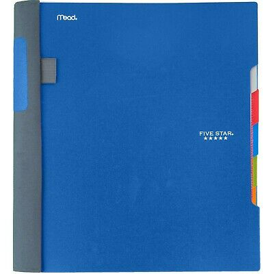 Five Star Advance Spiral Notebook 5 Subject College Ruled Paper 200 Sheets...
