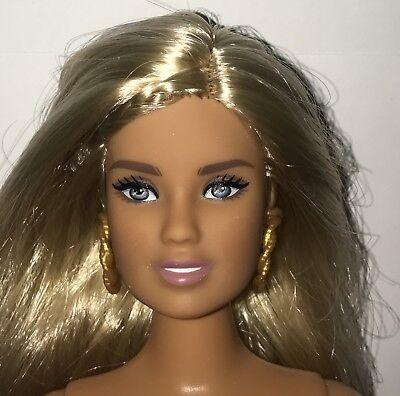 Barbie Fashionistas 94 Girly Camo Curvy Nude Teresa Face Doll NEW Blonde Hair