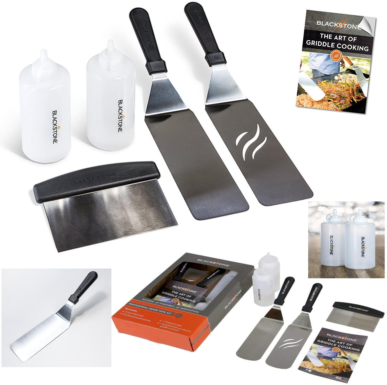Professional Blackstone Griddle Spatula Kit Accessory Grill