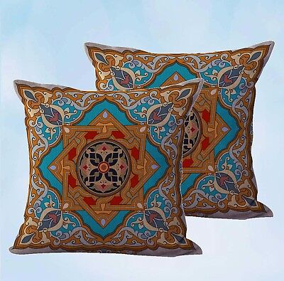 US Seller-set of 2 casual retro cushion cover home accessories and decor