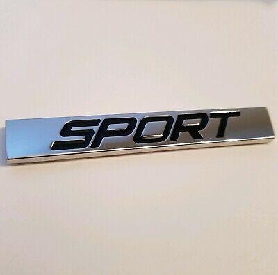 Sport Metall Schwarz Silber Abzeichen Styling Emblem für Mercedes Benz Gla GLS