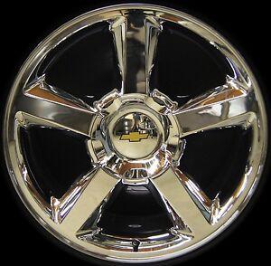 NEW-Chevy-Silverado-Tahoe-Suburban-Avalanche-LTZ-20-Chrome-Wheels-Rims