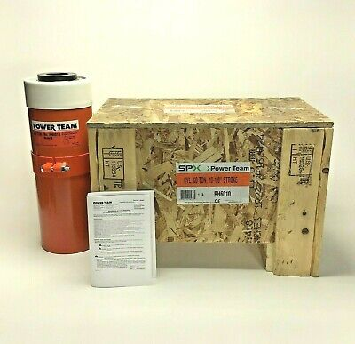 New Spx Power Team Rh6010 60ton Double Acting Cylinder 10-18 Stroke