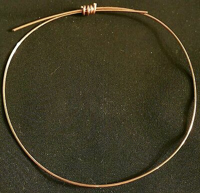 """Copper wire solder """"color match""""  4 foot jewelry making solder  flux made in"""