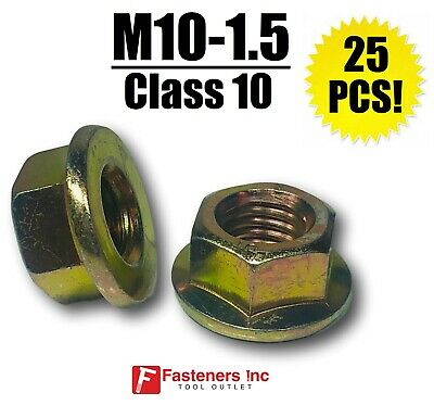 140pcs Stainless Steel Flange Nuts Assortment,M3 M4 M5 M6 M8 M10 M12 Metric Anti-Skid Hex Flange Lock Nut Set,for Machinery and Equipment Production