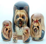Russian Nesting Dolls Dogs