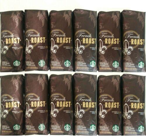 Starbucks French Roast Dark Roast Whole Bean Coffee, 12 LB