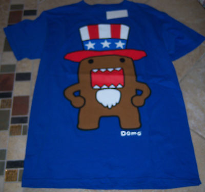 Domo Adult 100% Cotton T-shirts Many Patterns & Sizes