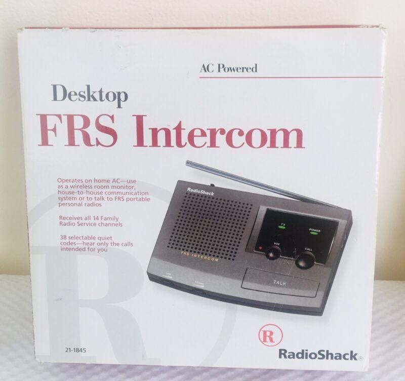 Radio Shack Desktop FRS Intercom  21-1845 BRAND NEW IN BOX