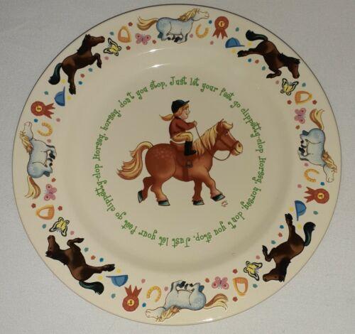 Anderton Pottery England Horse Girl Theme Child