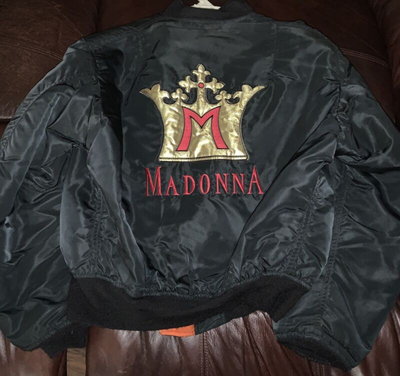 Madonna Blonde Ambiton Tour Jacket Excellent Condition Shipped From US   sz  M/L