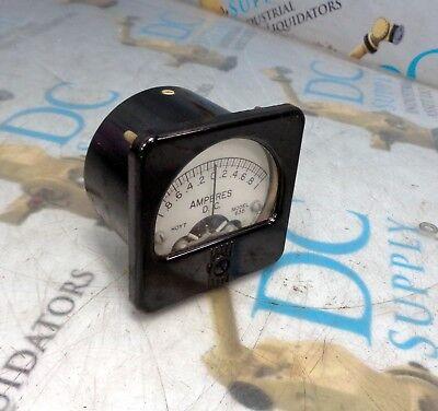 Hoyt 635 Dc Amperes Meter