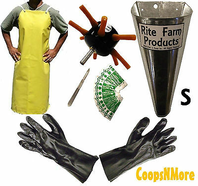 S8 Processing Kit Drill Plucker Small Kill Cone 10 Blade Scalpel Apron Gloves