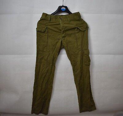 1980 Israeli IDF Army Trousers Vintage Military 76cm Waist Uniform Lebanon UK