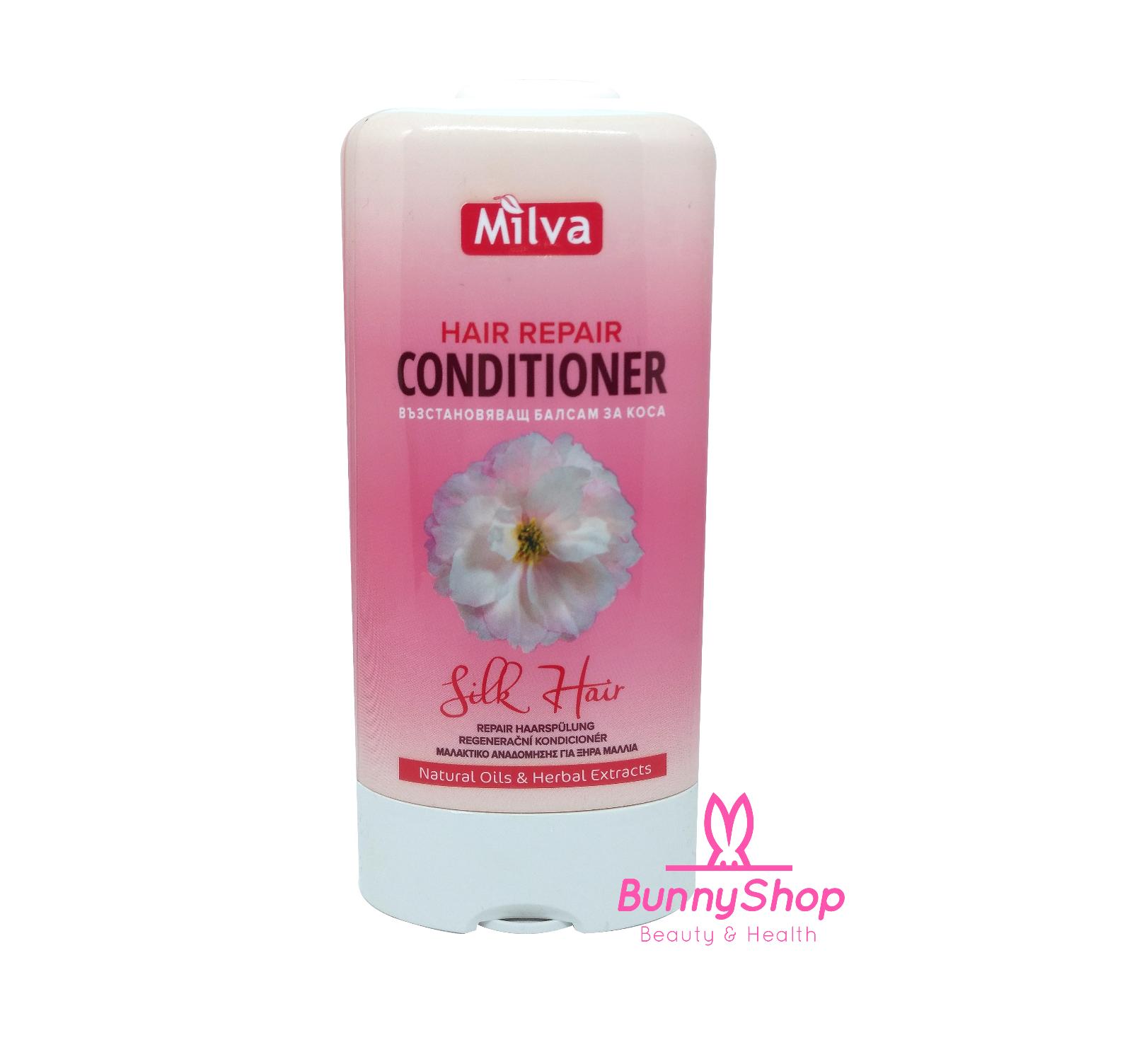 Milva Hair Repair Silk Conditioner Haarspülung 200ml (MHD 08/20)
