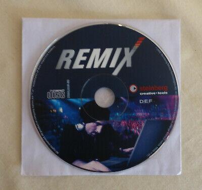 Steinberg REMIX (2002) Creative-Tools Ableton LIVE version WINDOWS 98 ME 2000 XP
