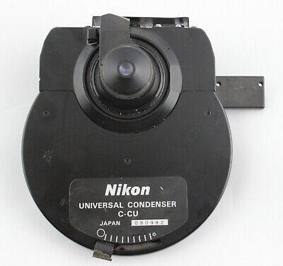 Nikon C-cu Nomarski Dic Condenser 0.9 Dry H Eclipse Microscope E600 E800 E1000