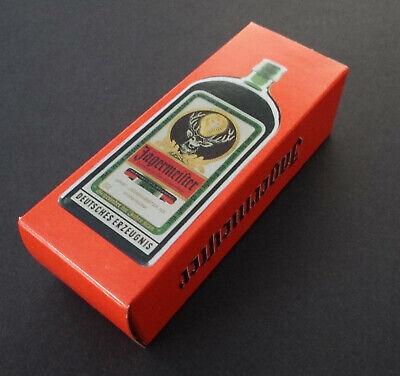 Jägermeister Licor de Hierbas Nostalgia Embalaje puesto de Juguete Miniatura