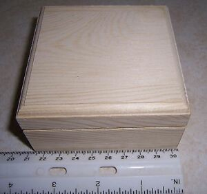 Unfinished Wooden Box Ebay