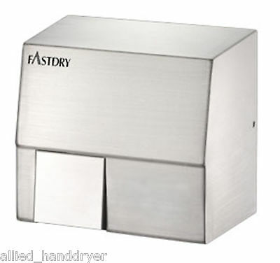 Fastdry Hk1800sa 110v120v Automatic Stainless Steel Hand Dryer W Wall Plug