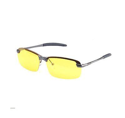 HD Night Vision Glasses Driving Aviator Sunglasses New UV40 Eyewear Best for