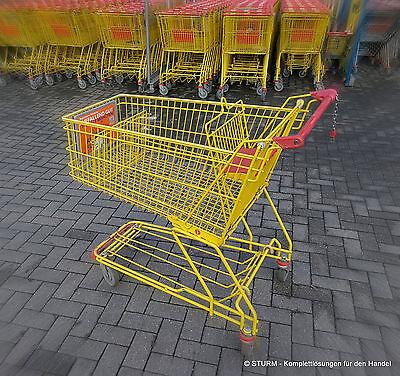 Einkaufswagen Trolley Wanzl  D 155 RC  143 Liter Einkaufskorb Supermarkt
