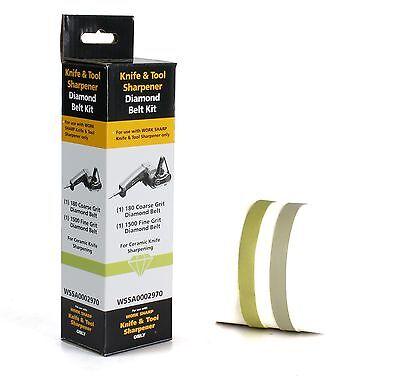 Darex Work Sharp Ceramic Knife Diamond Abrasive Belt Kit WSSA0002970