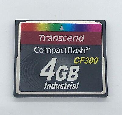 300 X Compactflash Card (4GB Transcend 300x CompactFlash Memory Card (p/n TS4GCF300I) )